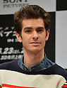 Andrew Garfield, Jun 13, 2012 : Tokyo, Japan - Andrew Garfield speaks at a news conference in Tokyo on Wednesday, June 13, 2012. The American film star was in town along with director Marc Webb, actress Emma Stone and actor Rhys Ifans to promote a June 23 world premiere of The Amazing Spider-Man.  (Photo by Natsuki Sakai/AFLO)