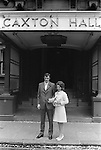 Caxton Hall Westminster London 1972. Londons main register office until 1979...