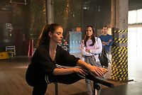 Dance Academy: The Movie (2017) <br /> Xenia Goodwin, Dena Kaplan &amp; Thomas Lacey<br /> *Filmstill - Editorial Use Only*<br /> CAP/RFS<br /> Image supplied by Capital Pictures