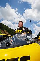 Jun 17, 2017; Bristol, TN, USA; NHRA pro mod driver Troy Coughlin Sr during qualifying for the Thunder Valley Nationals at Bristol Dragway. Mandatory Credit: Mark J. Rebilas-USA TODAY Sports