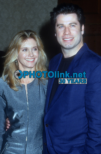 Olivia Newton-John, John Travolta,1993 , Photo By Michael Ferguson/PHOTOlink