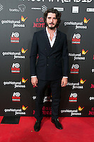 "Jon Gonzalez attend the Premiere of the movie ""El club de los incomprendidos"" at callao Cinema in Madrid, Spain. December 1, 2014. (ALTERPHOTOS/Carlos Dafonte) /NortePhoto<br />