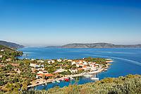 The port at Steni Vala of Alonissos island, Greece