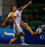 HKFA U-20 vs Yau Yee League Select during day two of the HKFC Citibank Soccer Sevens 2015 on May 30, 2015 at the Hong Kong Football Club in Hong Kong, China. Photo by Xaume Olleros / Power Sport Images