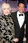 Celeste Holm & Michael Feinstein.backstage after the Broadway Opening Finale & Night Curtain Call for ALL ABOUT ME at the Henry Miller Theatre in New York City..March 18, 2010.