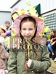 Millie-Ann Dowd who won the Easter Bonnet competition in Sage and Stone Duleek. Photo:Colin Bell/pressphotos.ie