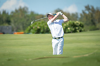 Gavin Moynihan (IRL) during the 2nd round of the AfrAsia Bank Mauritius Open, Four Seasons Golf Club Mauritius at Anahita, Beau Champ, Mauritius. 30/11/2018<br /> Picture: Golffile | Mark Sampson<br /> <br /> <br /> All photo usage must carry mandatory copyright credit (&copy; Golffile | Mark Sampson)