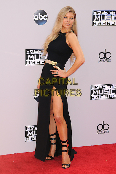 23 November 2014 - Los Angeles, California - Fergie (Fergie Duhamel born Stacy Ann Ferguson). American Music Awards 2014 - Arrivals held at Nokia Theatre LA Live. <br /> CAP/ADM/BP<br /> &copy;BP/ADM/Capital Pictures