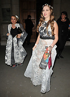Gillian McKeith and Afton McKeith at the &quot;The Adoration Trilogy: Searching For Apollo&quot; by Alistair Morrison opening gala, Victoria &amp; Albert Museum, Cromwell Road, London, England, UK, on Monday 13 November 2017.<br /> CAP/CAN<br /> &copy;CAN/Capital Pictures