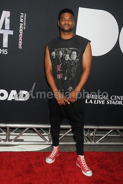 "8 June 2015 - Los Angeles, California - Damien Wayans. LA Film Festival 2015 Premiere of ""Dope"" held at Regal Cinemas L.A. Live. Photo Credit: Byron Purvis/AdMedia"