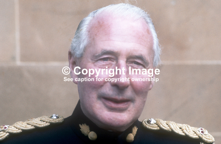 Major Robert Stephens, Administrative Officer, Hillsborough Castle, N Ireland, the official residence of visiting royals. May 1970. 197005000143<br /> <br /> Copyright Image from Victor Patterson, 54 Dorchester Park, Belfast, UK, BT9 6RJ<br /> <br /> t1: +44 28 9066 1296<br /> t2: +44 28 9002 2446<br /> m: +44 7802 353836<br /> <br /> e1: victorpatterson@me.com<br /> e2: victorpatterson@gmail.com<br /> <br /> IMPORTANT: My Terms and Conditions of Business are at www.victorpatterson.com