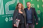04.02.2019, Dorint Park Hotel Bremen, Bremen, GER, 1.FBL, 120 Jahre SV Werder Bremen - Gala-Dinner<br /> <br /> im Bild<br />  <br /> Uli Borowka mit Gattin Claudia<br /> <br /> Der Fussballverein SV Werder Bremen feiert am heutigen 04. Februar 2019 sein 120-jähriges Bestehen. Im Park Hotel Bremen findet anläßlich des Jubiläums ein Galadinner statt. <br /> <br /> Foto © nordphoto / Ewert