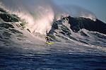 Surfing Mavericks in Half Moon Bay