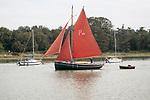 P26 sailing yacht River Deben, Woodbridge, Suffolk, England, UK