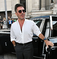 Simon Cowell attends Sony Music imprint Syco's summer party at Victoria and Albert Museum, London, UK, 4th July 2019.<br />  CAP/JOR<br /> ©JOR/Capital Pictures