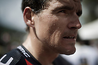 sweaty Greg Van Avermaet (BEL/BMC) after the finish<br /> <br /> Stage 18 (ITT) - Sallanches › Megève (17km)<br /> 103rd Tour de France 2016