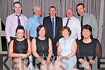 Bottom L-R Zoe Mc Hale, Eileen Herlihy, May Murphy and Eileen O'Donovan, Top L-R Timothy Cronin, Mike Murphy, Patsy Herlihy, Denny Buckley and John O'Donovan all from Gneeveguilla at the Gneeveguilla Social in the Killarney Heights Hotel last Sunday night.