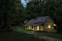 "The Noah ""Bud"" Ogle Place was a homestead located in the Great Smoky Mountains of Sevier County, in the U.S. state of Tennessee. Built in the late 1880's."