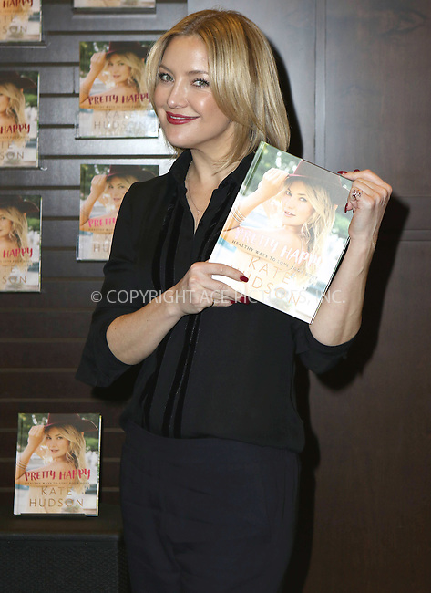 ACEPIXS.COM<br /> <br /> February 22 2016, New York City<br /> <br /> Kate Hudson signs copies of her new book 'Pretty Happy: Healthy Ways To Love Your Body' at Barnes &amp; Noble at The Grove on February 22, 2016 in Los Angeles, California.<br /> <br /> By Line: Nancy Rivera/ACE Pictures<br /> <br /> ACE Pictures, Inc.<br /> www.acepixs.com<br /> Email: info@acepixs.com<br /> Tel: 646 769 0430