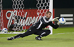 01 November 2007: Chicago's Jon Busch. The Chicago Fire tied DC United 2-2 in the second leg of their Major League Soccer Eastern Conference Semifinal playoff series at RFK Stadium in Washington, DC. The Fire advanced to the next round, winning the series 3-2 on aggregate goals.