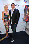 MIAMI BEACH, FL - MARCH 04: Malin Akerman and Publisher, Ocean Drive Magazine Courtland Lantaff Celebrates Her March Ocean Drive Magazine Cover at Wall Lounge at W Hotel South Beach on March 4, 2016 in Miami Beach, Florida. ( Photo by Johnny Louis / jlnphotography.com )