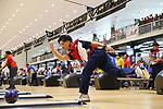 € Shusaku Asato (JPN), <br /> AUGUST 23, 2018 - Bowling : <br /> Men's Trios Block 2 <br /> at Jakabaring Sport Center Bowling Center <br /> during the 2018 Jakarta Palembang Asian Games <br /> in Palembang, Indonesia. <br /> (Photo by Yohei Osada/AFLO SPORT)