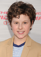 WESTWOOD, CA - JUNE 28: Nolan Gould arrives at the Los Angeles premiere of 'The Amazing Spiderman' at Regency Village Theatre on June 28, 2012 in Westwood, California. /NortePhoto.com<br />