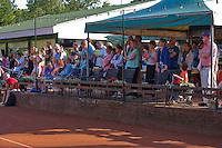 Netherlands, Dordrecht, August 03, 2015, Tennis,  National Junior Championships, NJK, TV Dash 35, Opening ceremony, <br /> Photo: Tennisimages/Henk Koster
