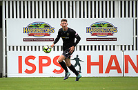 Team Wellington's Scott Hillier during the 2018 OFC Champions League Quarterfinal between Team Wellington and Lae City Dwellers FC at David Farrington Park in Wellington, New Zealand on Saturday, 7 April 2018. Photo: Dave Lintott / lintottphoto.co.nz