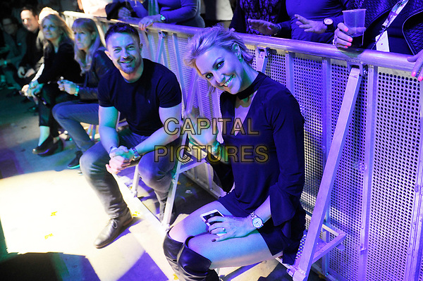 LONDON, ENGLAND - OCTOBER 27: Natalie Lowe attending 'Nile Rodgers &amp; Chic' at Bluesfest at the O2 Arena on October 27, 2017 in London, England.<br /> CAP/MAR<br /> &copy;MAR/Capital Pictures