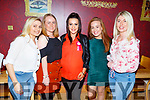 Niamh O'Carroll from Manor celebrating her birthday in Ristorante Uno on Friday evening.<br /> L to r: Leanne O'Shea, Rachel Hayes, Niamh O'Carroll, Fiona Conway and Grace Fitzmaurice.
