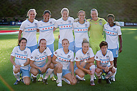 Chicago Red Stars Starting Eleven. FC Gold Pride tied the Chicago Red Stars 0-0 in PUMA's Project Pink, Think Pink, Breast Cancer Awareness game at Pioneer Stadium in Hayward, California on August 7th, 2010.