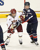 Caitlin Walsh (BC - 11), Jody Sydor (UConn - 4) - The Boston College Eagles defeated the visiting University of Connecticut Huskies 3-0 on Sunday, October 31, 2010, at Conte Forum in Chestnut Hill, Massachusetts.