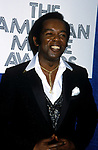 Lou Rawls attending the American Music awards.<br />1981.