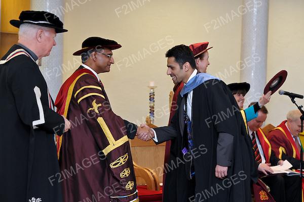 Liverpool Hope University Winter Graduation Day 26.1.12