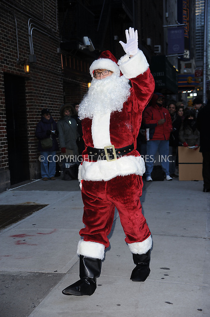 WWW.ACEPIXS.COM . . . . . ....December 16 2009, New York City....Santa made an appearance at 'The Late Show with David Letterman' on December 16 2009 in New York City....Please byline: KRISTIN CALLAHAN - ACEPIXS.COM.. . . . . . ..Ace Pictures, Inc:  ..(212) 243-8787 or (646) 679 0430..e-mail: picturedesk@acepixs.com..web: http://www.acepixs.com