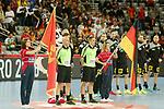 13.01.2018., Croatia, Arena Zagreb, Zagreb - European Handball Championship, Group C, Round 1, Germany - Montenegro. <br /> <br /> Foto &copy; nordphoto / Dalibor Urukalovic/PIXSELL