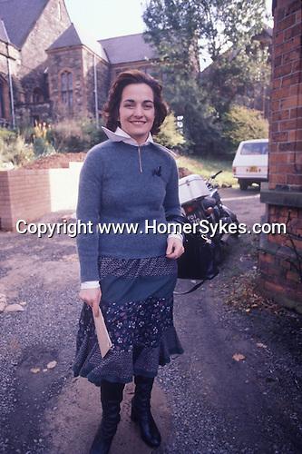 Northern Ireland 1970s The Troubles Belfast Mairead Corrigan Peace Movement Peace People. 1977.<br /> <br /> Mairead Maguire (nee Corrigan)