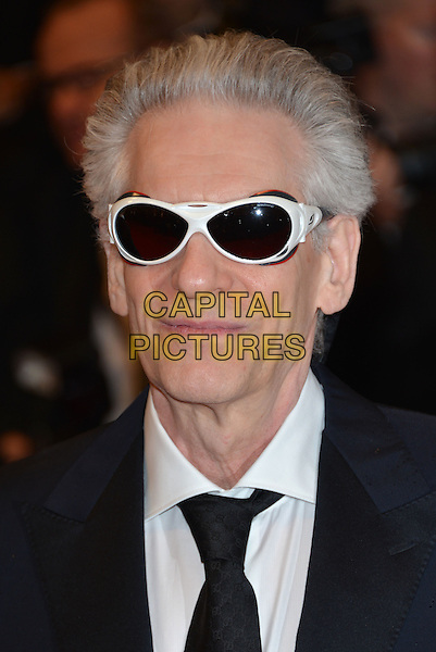 CANNES, FRANCE - MAY 19: David Cronenberg attends the 'Maps To The Stars' premiere during the 67th Annual Cannes Film Festival on May 19, 2014 in Cannes, France.<br /> CAP/PL<br /> &copy;Phil Loftus/Capital Pictures
