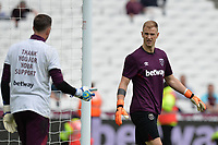 Joe Hart of West Ham and Adrian of West Ham during West Ham United vs Everton, Premier League Football at The London Stadium on 13th May 2018