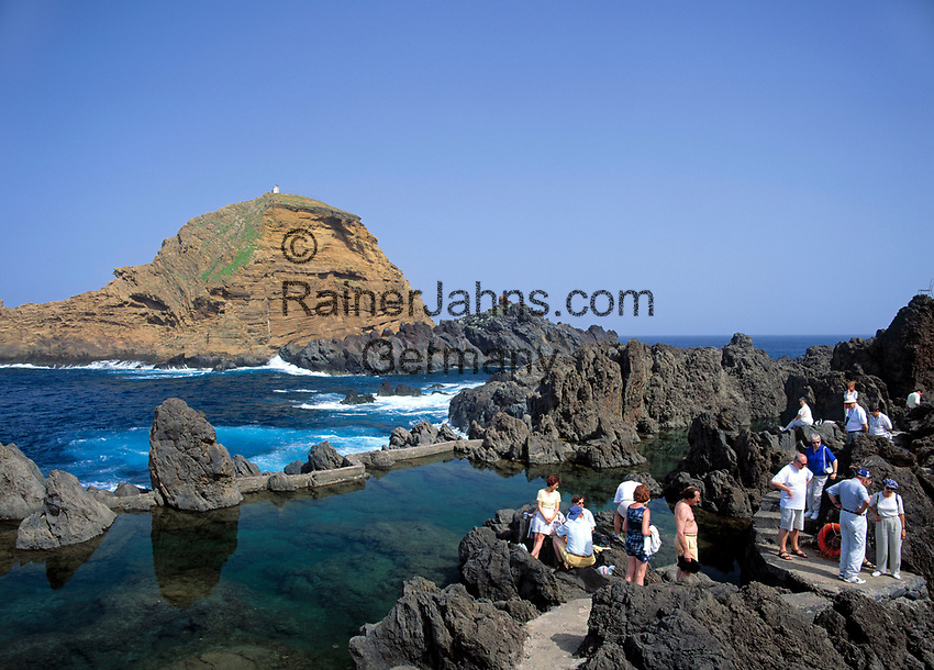 Portugal, Madeira, Porto Moniz: Naturschwimmbecken | Portugal, Madeira, Porto Moniz: natural swimming pool
