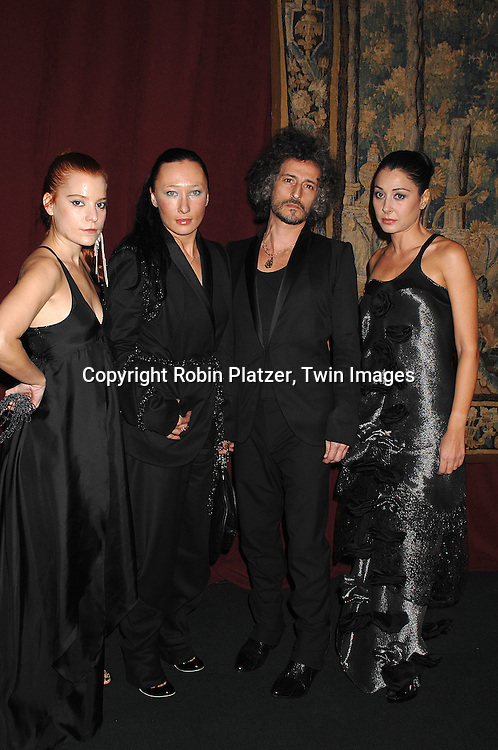 3 as Four..arriving at The 7th on Sale Black Tie Gala Dinner on ..November 15, 2007 at The 69th Regiment Armory in New York. The Fashion Industry's Battle Against HIV and AIDS..will benefit. CFDA and Vogue were 2 of the sponsors...Robin Platzer, Twin Images