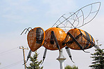 FALHER, ALBERTA, CANADA.  WORLD'S LARGEST BEE, HONEY PRODUCTION