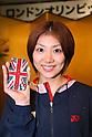 Reiko Shiota (JPN), .June 9, 2012 - Badminton : .Badminton Japan National Team Send-off Ceremony for the London Olympics 2012 .in Tokyo, Japan. .(Photo by Daiju Kitamura/AFLO SPORT) [1045]