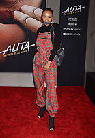 WESTWOOD, CA - FEBRUARY 05: Carrie Bernans attends the Premiere Of 20th Century Fox's 'Alita: Battle Angel' at Westwood Regency Theater on February 05, 2019 in Los Angeles, California.<br /> CAP/ROT/TM<br /> ©TM/ROT/Capital Pictures