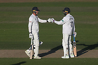 Murali Vijay and Tom Westley enjoy a useful partnership for Essex during Nottinghamshire CCC vs Essex CCC, Specsavers County Championship Division 1 Cricket at Trent Bridge on 12th September 2018