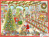 Ingrid, CHRISTMAS SANTA, SNOWMAN, WEIHNACHTSMÄNNER, SCHNEEMÄNNER, PAPÁ NOEL, MUÑECOS DE NIEVE, paintings+++++,USISMC36C,#X# ,classical
