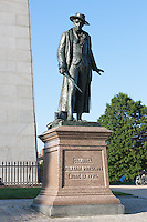 Statue of Colonel William Prescott at the Bunker Hill Monument, Boston, Massachusetts