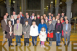 TURNOUT: A great turn out from former members of the Festival of Kerry in St John's Church.Tralee as they held annaual  mass which was officiated by Fr Sean Hanafin, on Saturday for deceased members and former members who are sick in Hospital and nursing homes.............