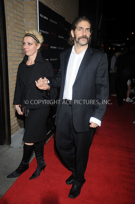 WWW.ACEPIXS.COM . . . . . ....October 13 2008, New York City....Victoria Imperioli and Michael Imperioli arriving at a screening of 'Filth and Wisdom' hosted by The Cinema Society and Dolce and Gabbana at the IFC Center on October 13 2008 in New York City. ....Please byline: KRISTIN CALLAHAN - ACEPIXS.COM.. . . . . . ..Ace Pictures, Inc:  ..(646) 769 0430..e-mail: info@acepixs.com..web: http://www.acepixs.com